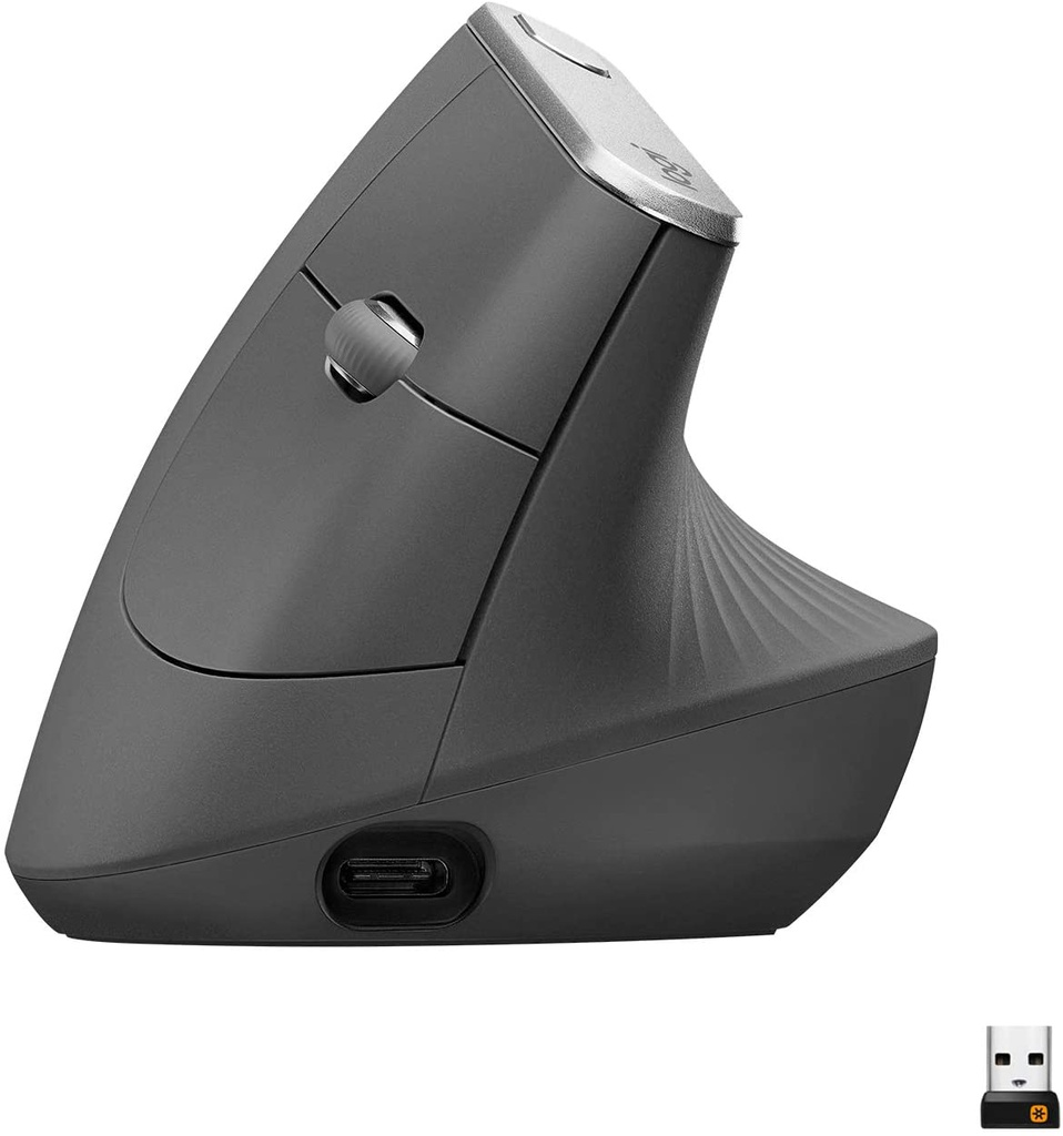 LOGITECH MX VERTICAL ADVANCED WIRELESS MOUSE